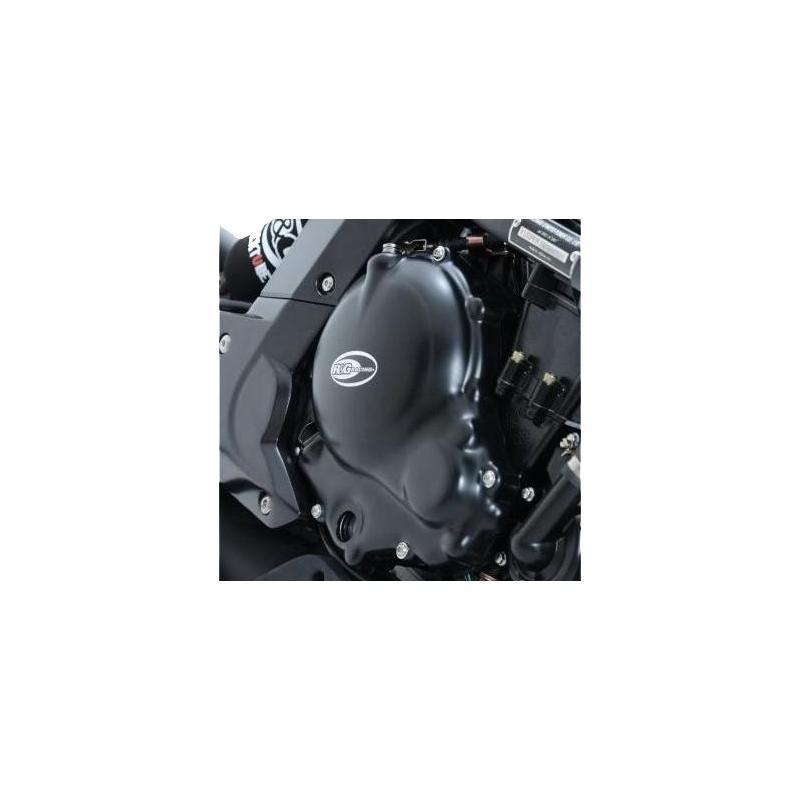 Couvre carter droit (embrayage) R&G Racing noir Kawasaki ER-6 06-15