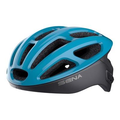Casque vélo Sena R1 intercom Bluetooth® intégrée blue ice