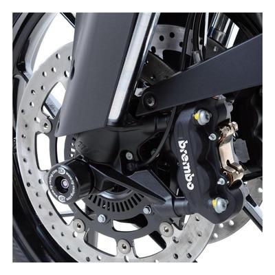Tampons de protection de fourche R&G Racing noir KTM 1290 Super Duke GT 19-20