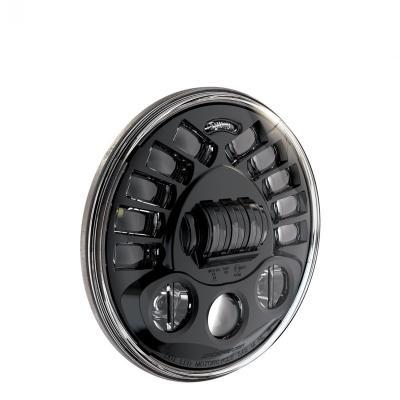 Phare JW Speaker modèle 8790 adaptatif Ø18 cm Headlights 1600 lumens encastré avec cerclage noir