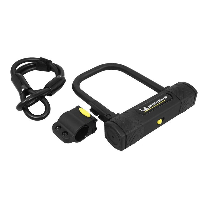 Antivol vélo en U Michelin 105x170mm (avec câble Ø10mm)