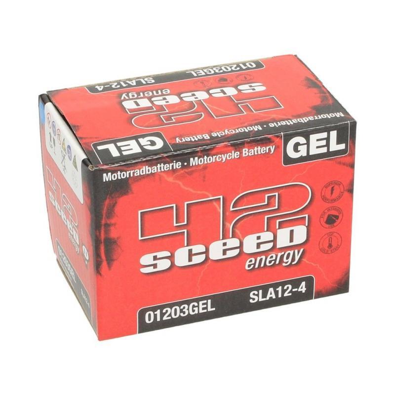 Batterie gel Sceed 42 SLA12-4 12V 4Ah - 2
