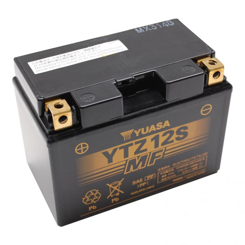 Batterie Gel Yuasa YTZ12S 12V 11Ah