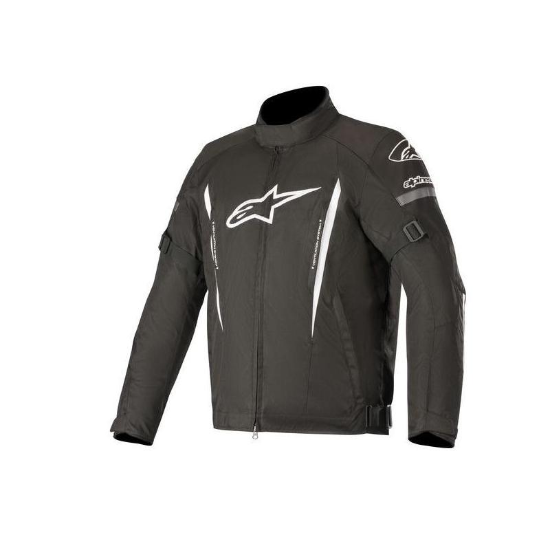 Blouson textile Alpinestars Gunner V2 Waterproof noir/blanc