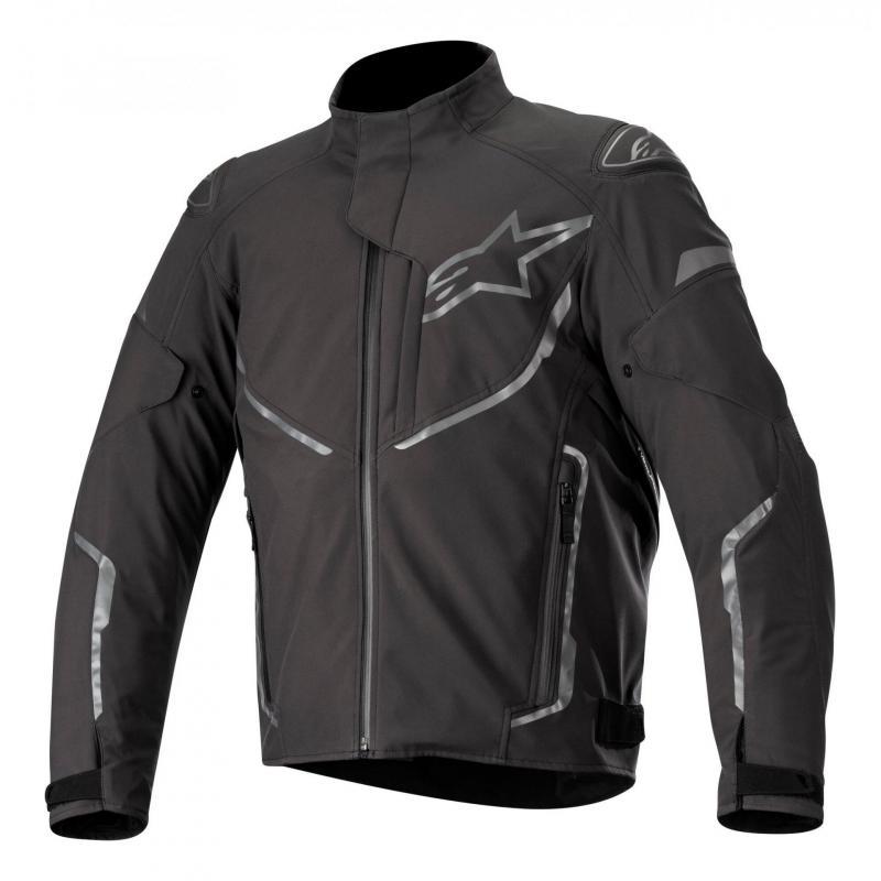 Blouson textile Alpinestars T-Fuse Sport Waterproof anthracite