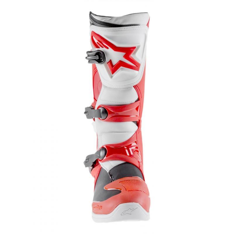 Bottes cross Alpinestars Tech 3 rouge/blanc - 3