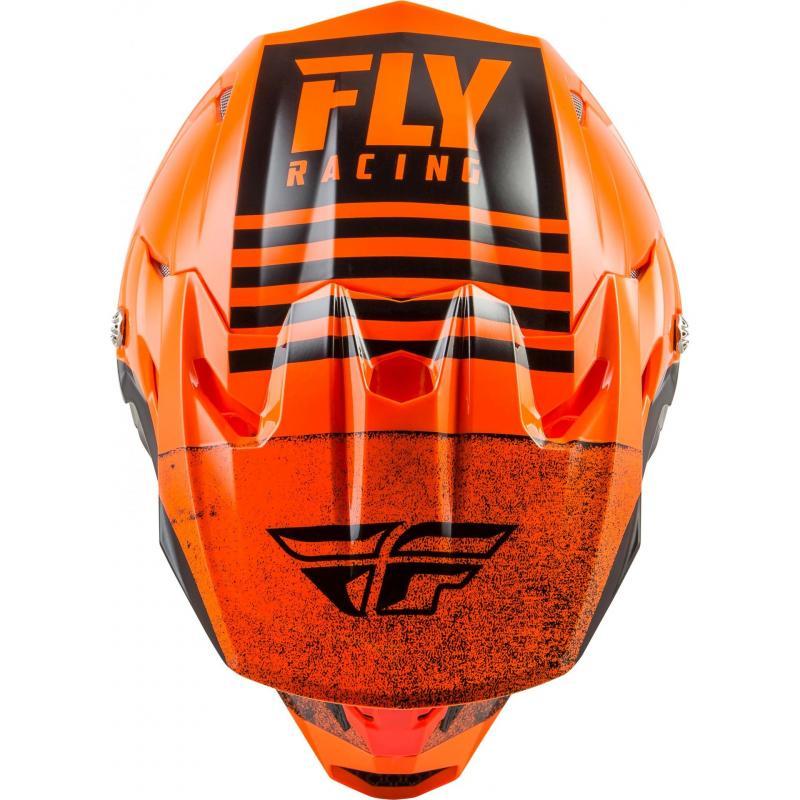 Casque cross Fly Racing Toxin Mips Embargo orange/noir - 2