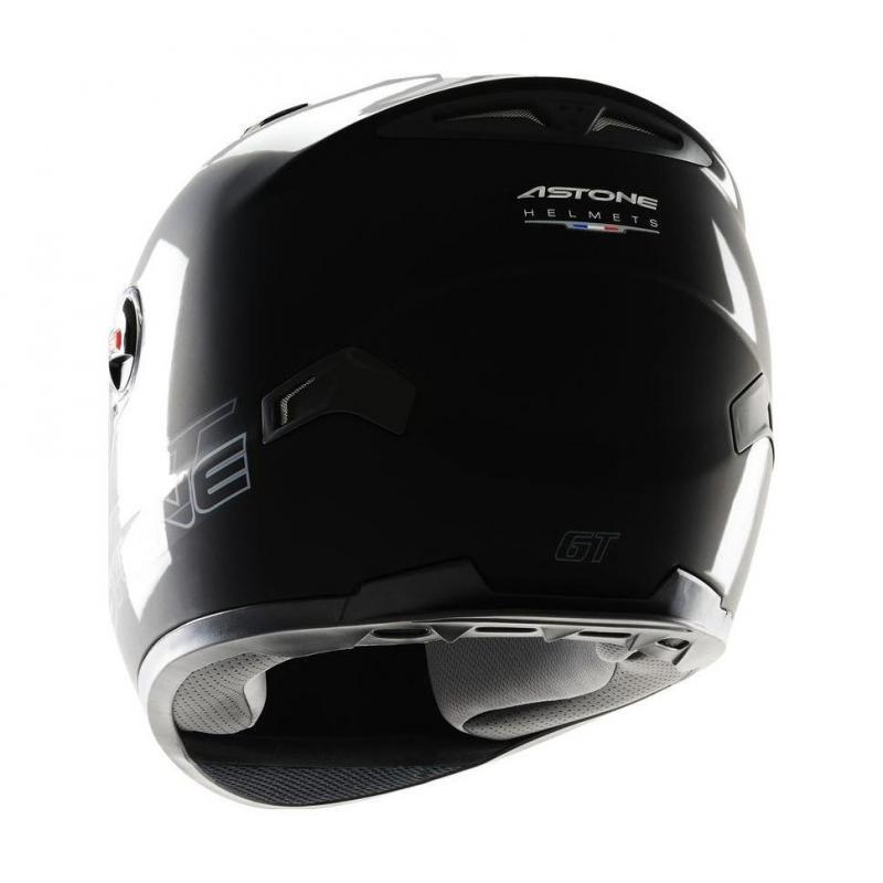 Casque Intégral Astone Gt Mono Exclusive noir Gloss - 1