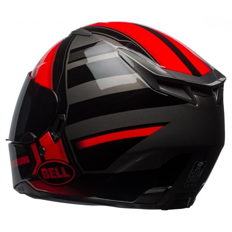Casque intégral Bell RS 2 Tactical rouge/noir/titanium - 4