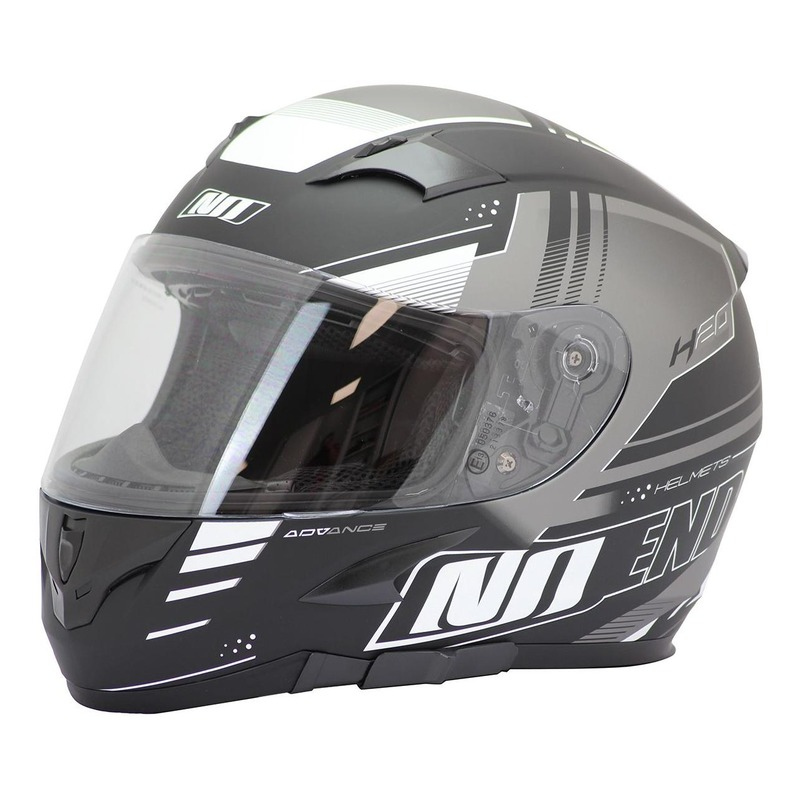 Casque intégral Noend H20-Advance by ASD Racing noir/blanc