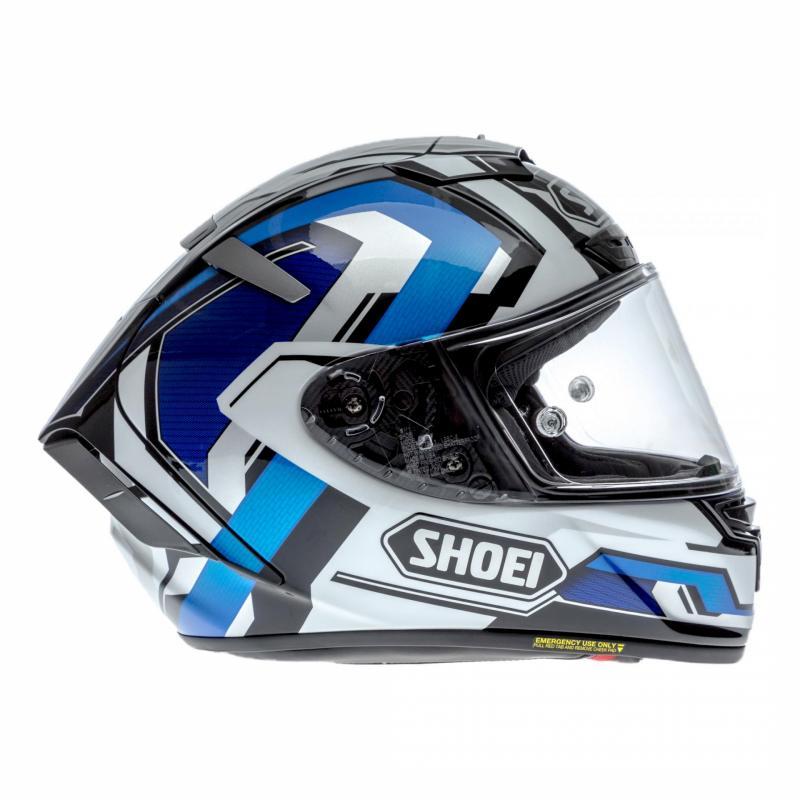 Casque intégral Shoei X-Spirit III Brink bleu/blanc - 2