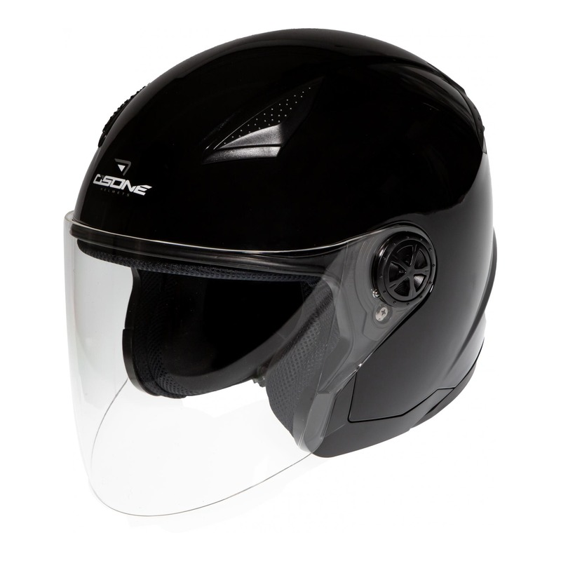 Casque jet Osone S200 Brooklyn noir
