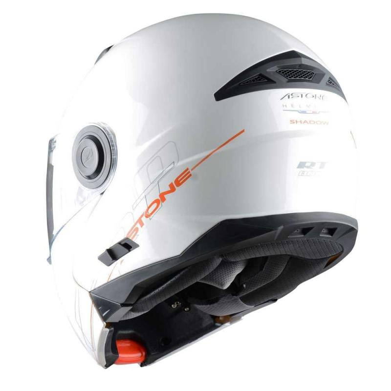 Casque Modulable Astone Rt800 Solid Exclusive blanc - 1