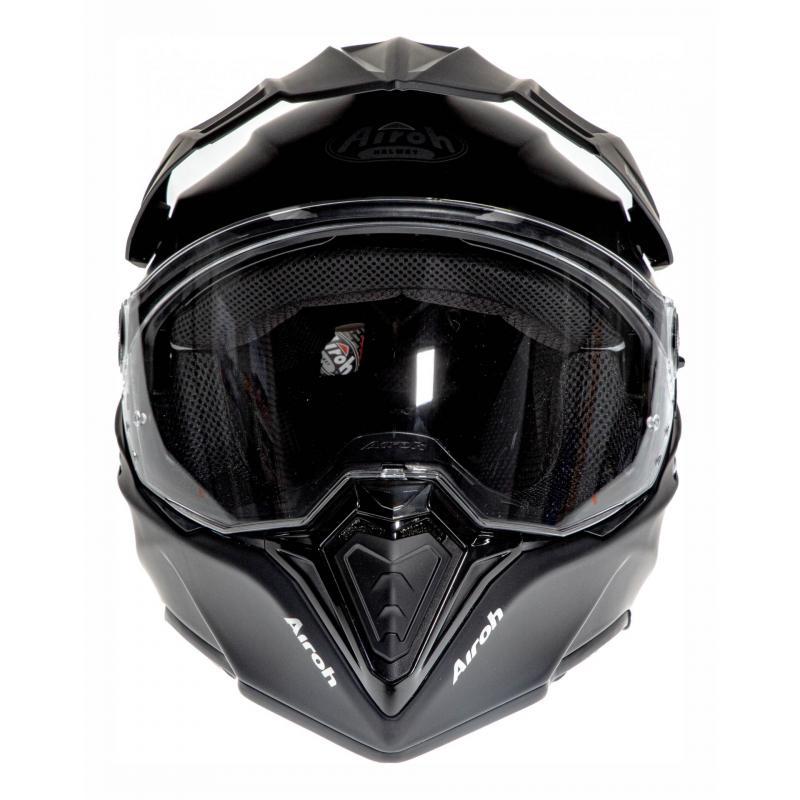 Casque trail Airoh Commander Color noir mat - 3