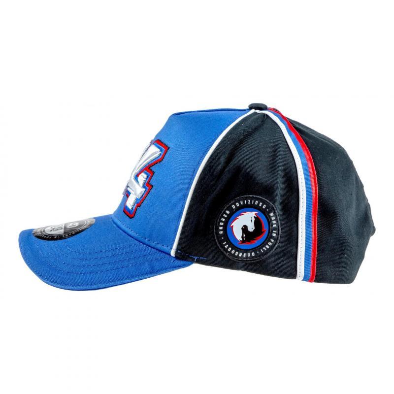 Casquette Baseball Andrea Dovizioso 04 gris/bleu - 3