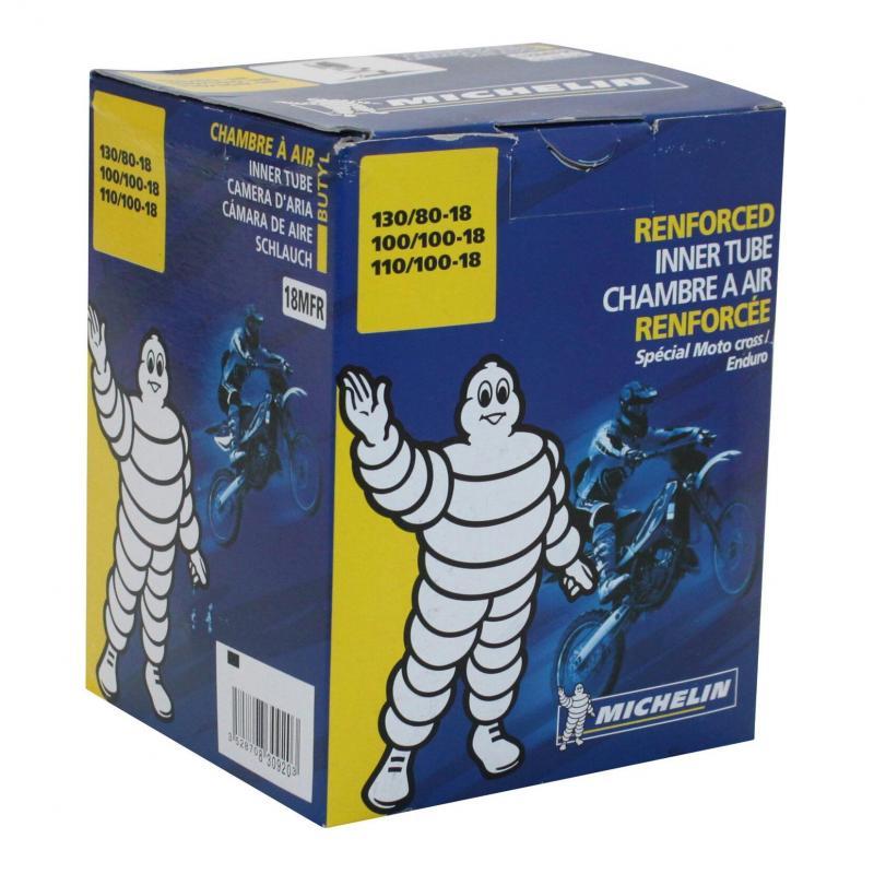 Chambre à air Michelin offroad 120/90-18 valve droite