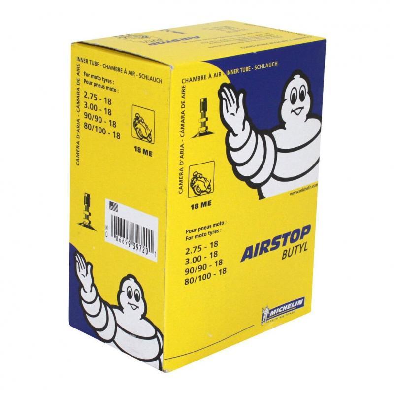 Chambre à air Michelin Street 2,75-18 valve droite TR4