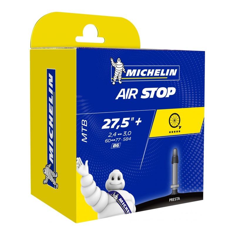 Chambre à air vélo Michelin Air Stop 27,5 x 2,20/2,80 B6 Presta 40mm