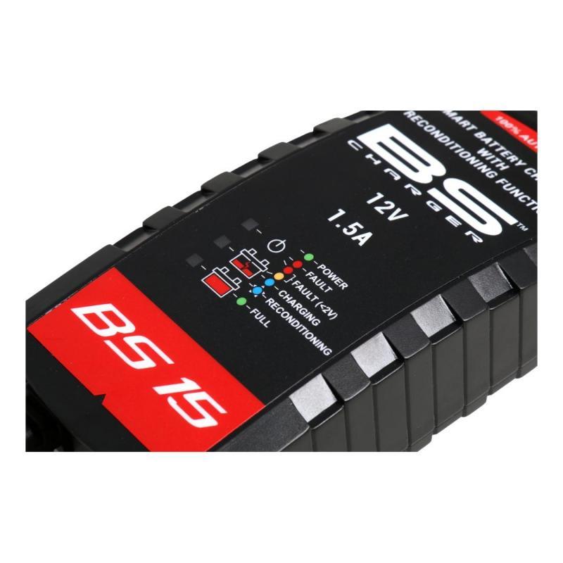 Chargeur de batterie intelligent BS Battery BS15 - 2