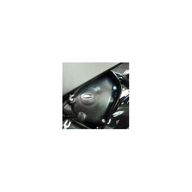 Couvre carter de pompe à huile R&G Racing noir Yamaha YZF-R6 06-18