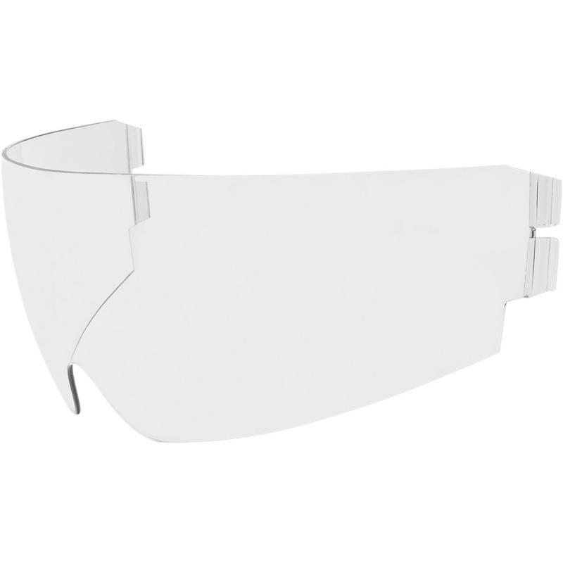 Écran rétractable Icon Dropshield pour casque Alliance GT/Airflite/Airform transparent
