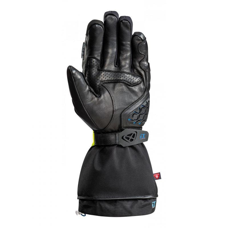 Gants chauffants Ixon IT-ASO noir/jaune fluo - 1