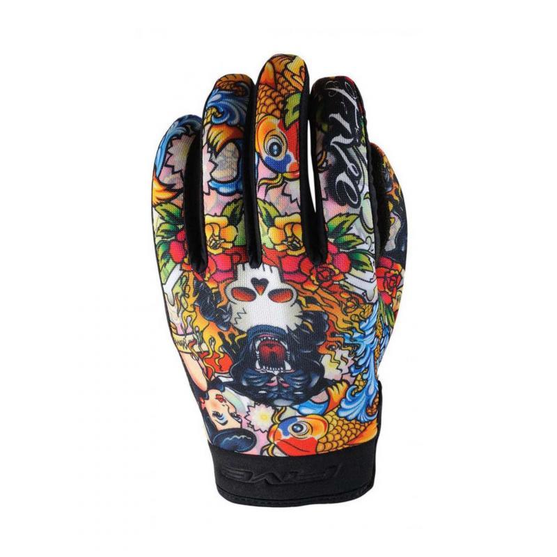 Gants Five Planet Fashion Tattoo Cougar