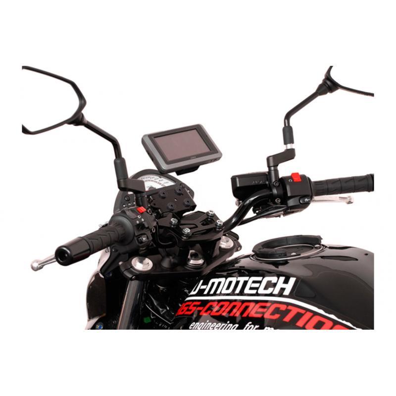 Kit d'adaptation Garmin Zumo 340/350/390/590/595/660 noir pour support GPS SW-MOTECH Nonshock / QUIC - 3