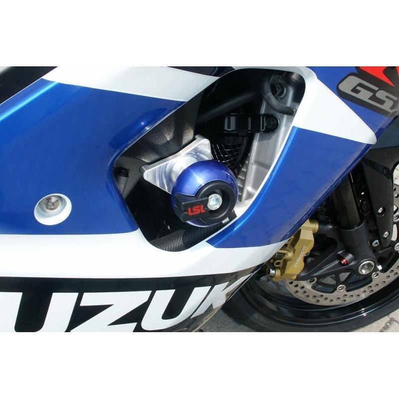 Kit fixation tampon de protection LSL Suzuki GSX-R 1000 03-04