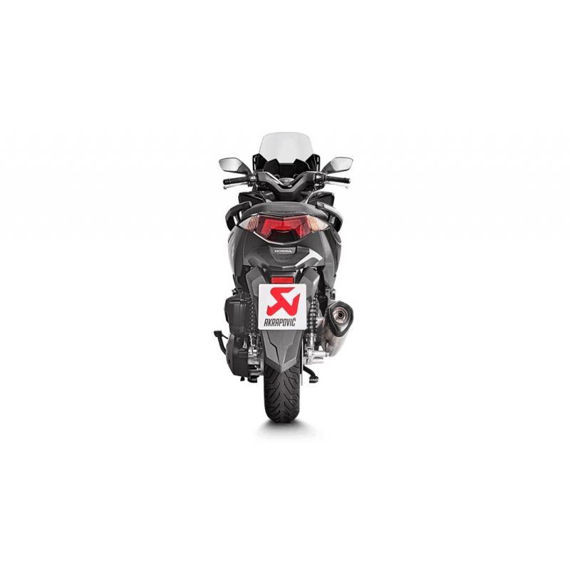 Ligne complète Akrapovic Racing line inox Honda Forza 125 17-18 - 2