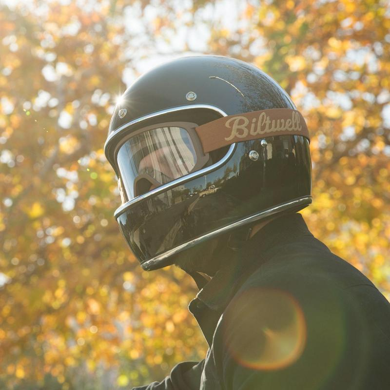 Masque Biltwell Moto 2.0 marron - 3