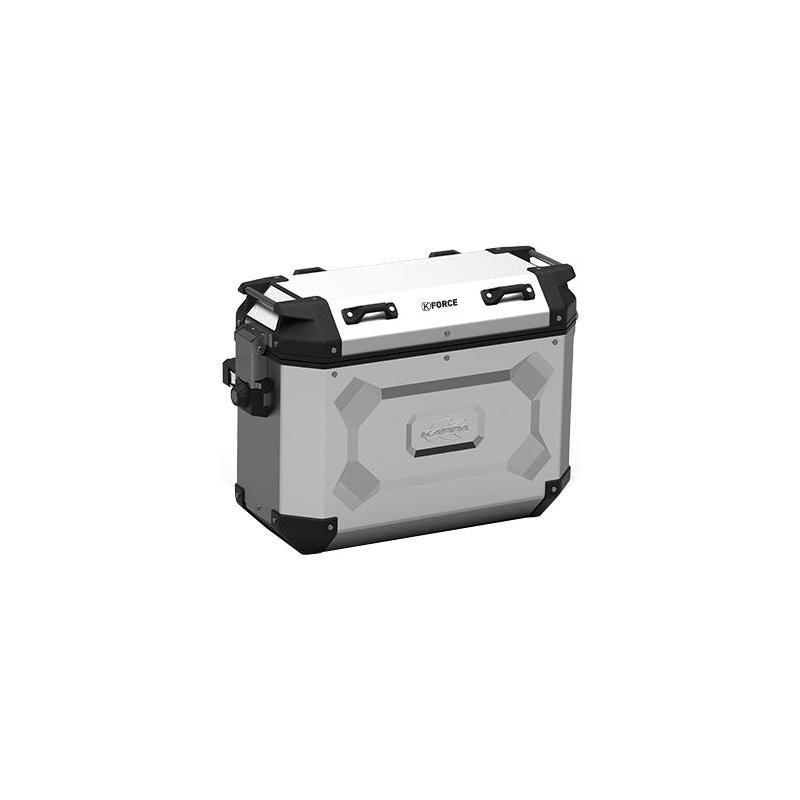 Paire de valises latérales Kappa K'Force 37+37 Litres aluminium
