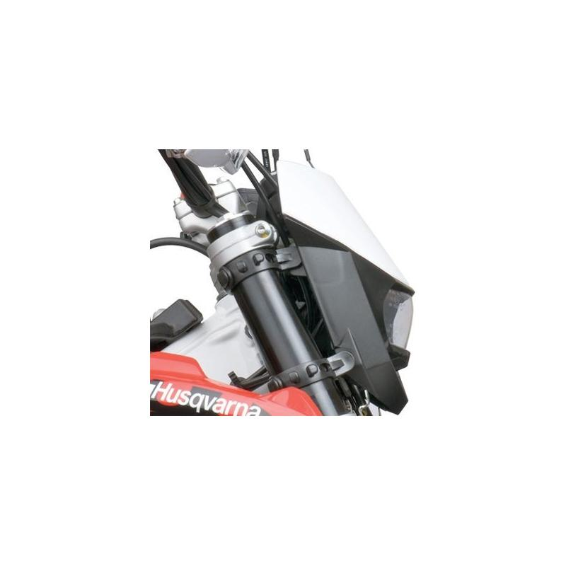 Plaque phare Polisport Halo noir - 2