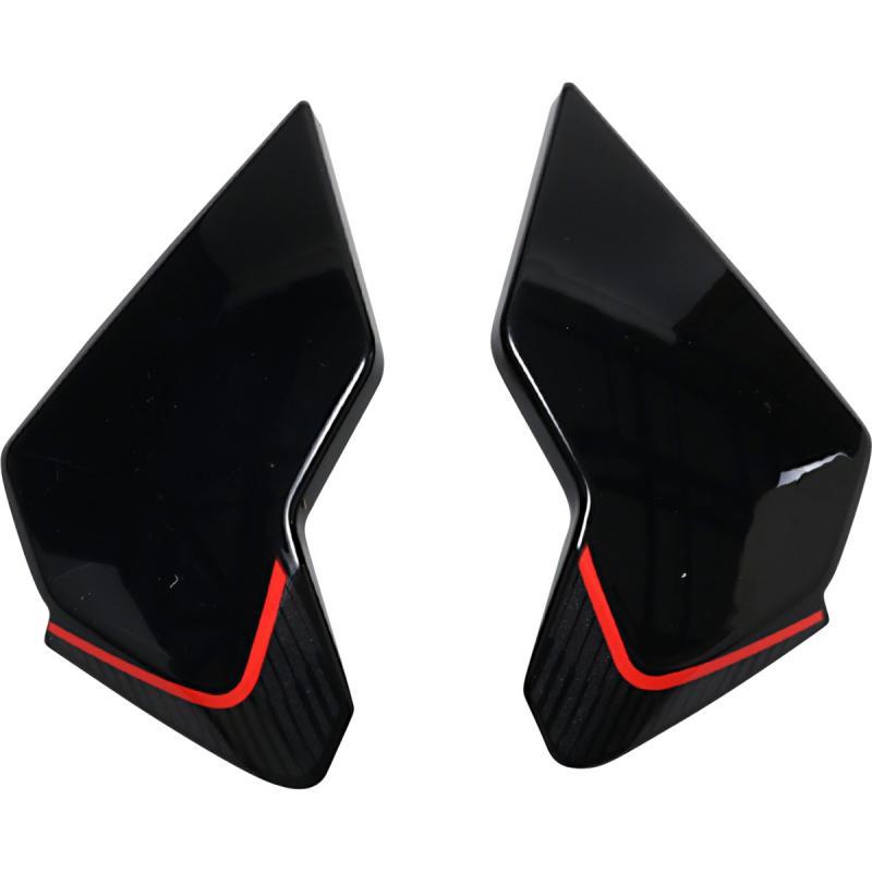 Plaques latérales Icon Airflite Raceflite rouge