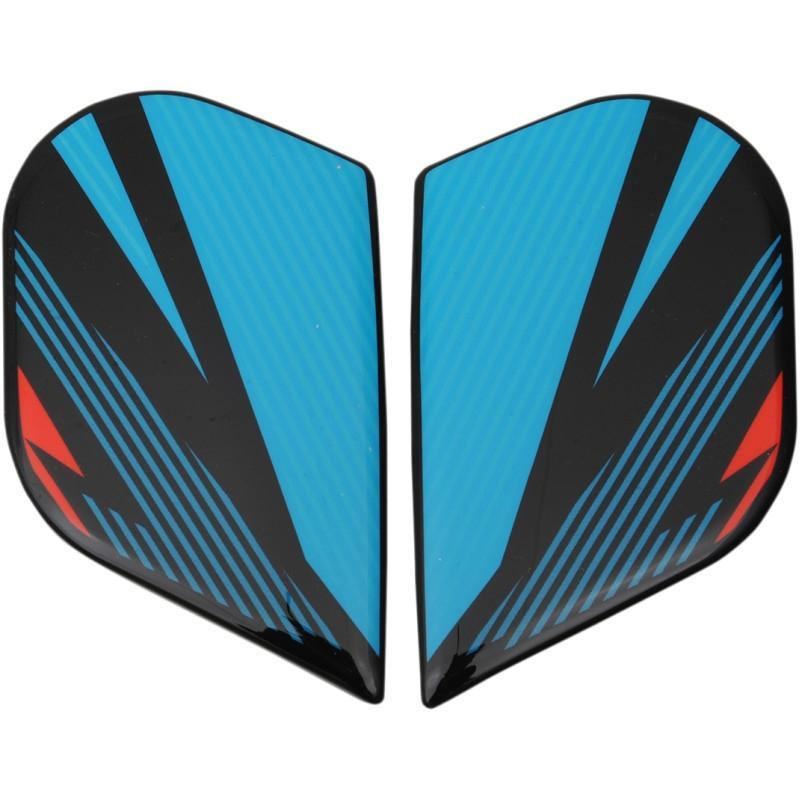 Plaques latérales Icon pour casque Alliance GT Primary bleu/rouge