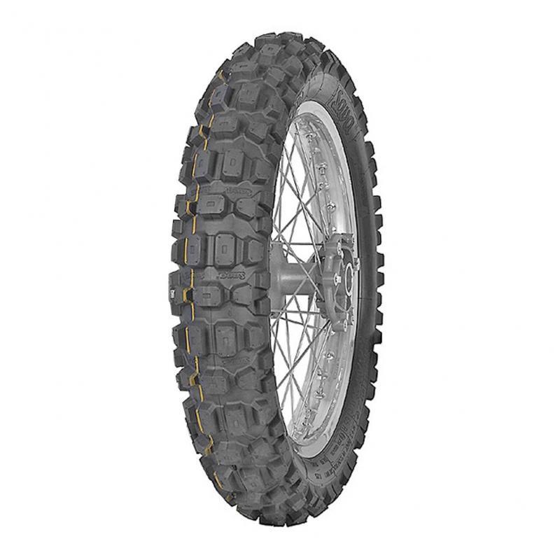 Pneu arrière moto trail Mitas MC23 Rockrider 110/80-18 58P