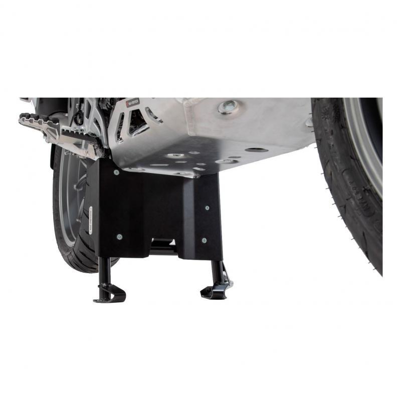 Rallonge de protection moteur SW-Motech pour béquille centrale BMW R 1250 GS 19-20