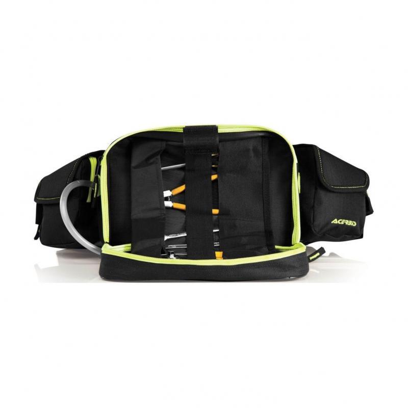 Sacoche outils Acerbis PROFILE noir/jaune - 2