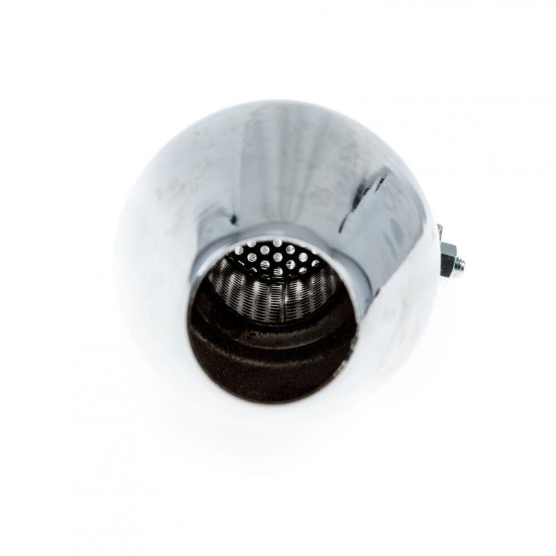 Silencieux conique universel chromé - 2