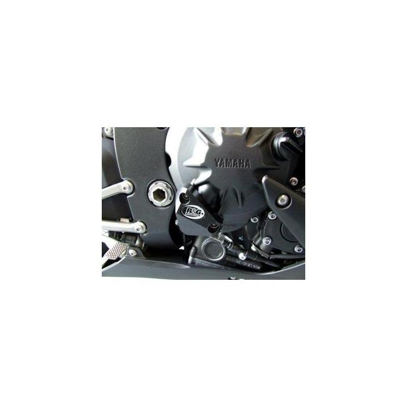 Slider moteur droit R&G Racing noir Yamaha YZF-R1 07-14