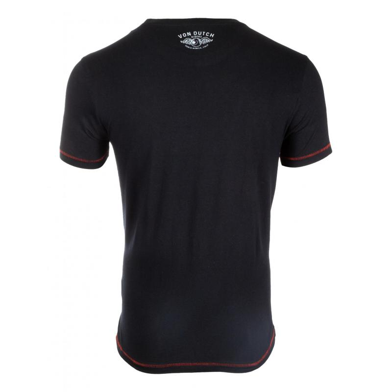 Tee-shirt Von Dutch Road Noir - 1
