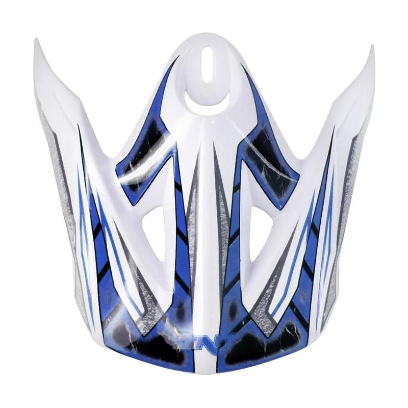 Visière casque cross sport bleu sc05