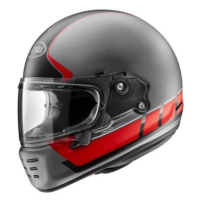 Casque intégral Arai Concept-X Speedblock rouge/gris/noir mat