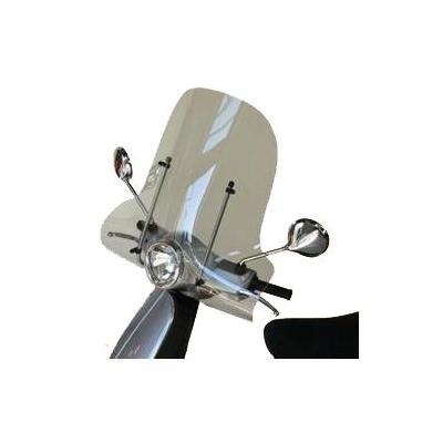 Pare-brise Bullster 47 cm incolore Vespa 125 LX 05-09