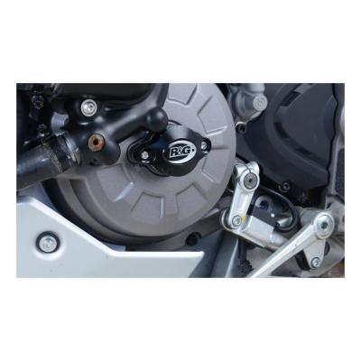 Slider moteur gauche R&G Racing noir Ducati Multistrada 950 19-20