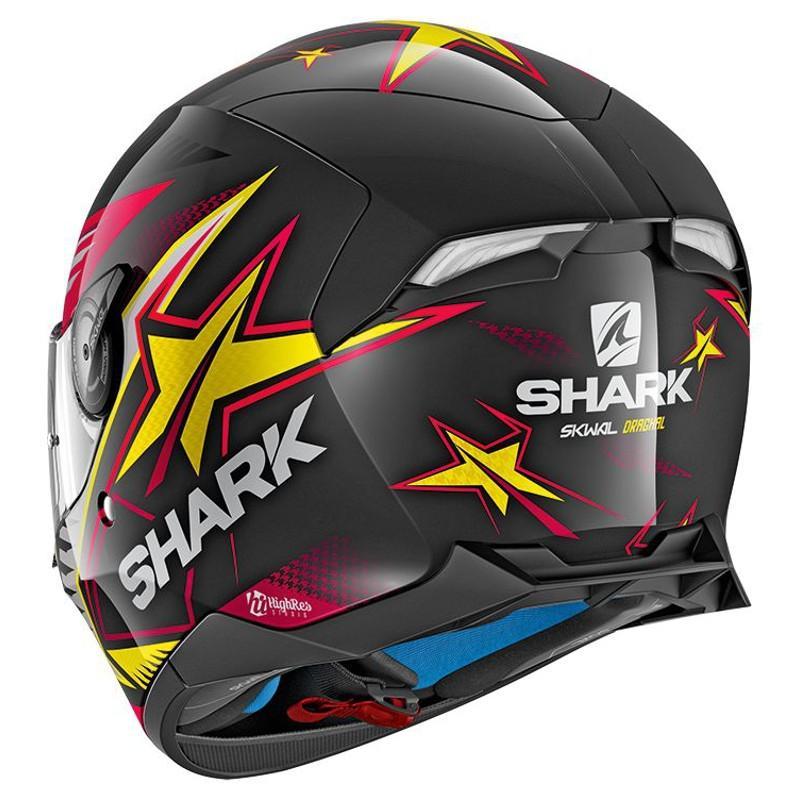 Casque intégral Shark SKWAL 2 DRAGHAL noir/violet/jaune - 1
