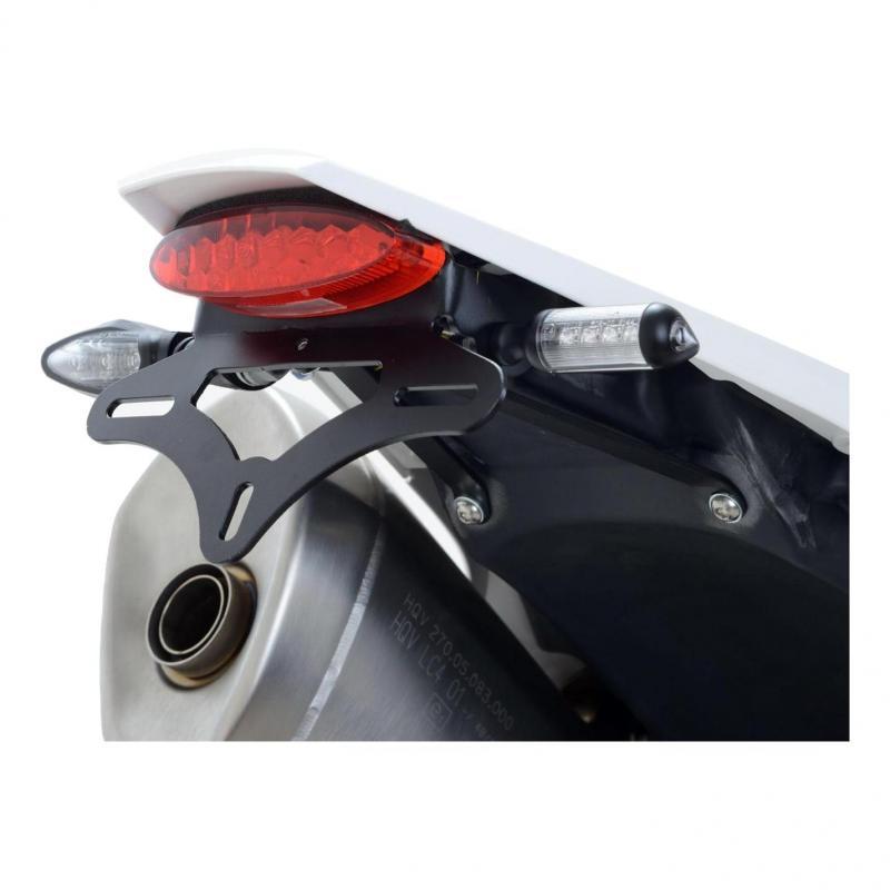 Support de plaque d'immatriculation R&G Racing noir Honda CBR 600 RR 03-06