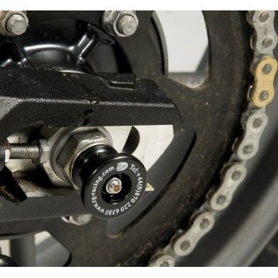 Tampons de bras oscillant diabolos R&G Racing noir Triumph Tiger 800 11-17