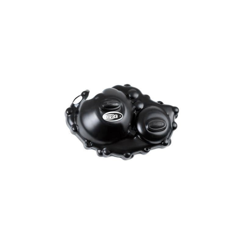 Couvre carter embrayage R&G Racing noir Race Serie Honda CBR 1000 RR 08-16