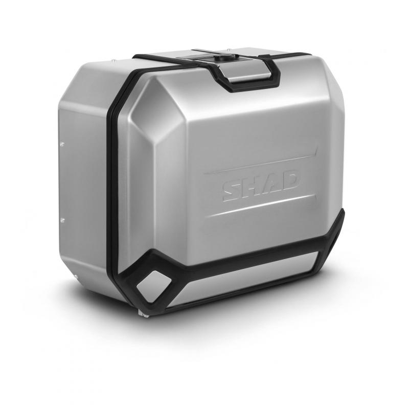 Valise latérale Shad Terra TR36 aluminium (côté droit)